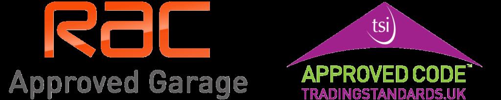RAC Approved Garage Logo